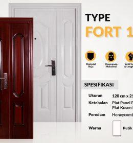 Metal Door FORT TYPE 120.10