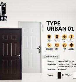 Metal Door URBAN TYPE 01