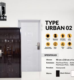 Metal Door URBAN TYPE 02