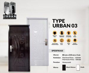 Metal Door URBAN TYPE 03