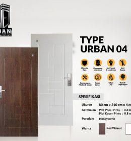 Metal Door URBAN TYPE 04