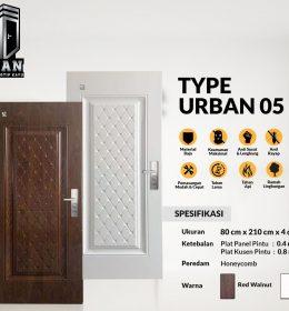 Metal Door URBAN TYPE 05