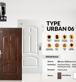 Metal Door URBAN TYPE 06